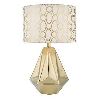 Pasadena tafel lamp goud CW SHD