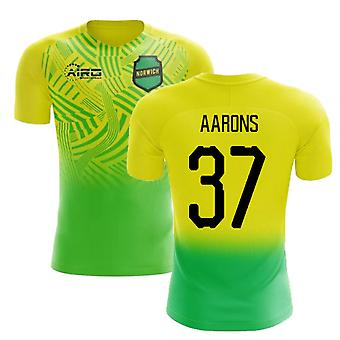 2019-2020 Norwich Home Concept Football Shirt (Aarons 37)