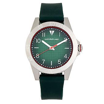 Morphic M84 Series Strap Watch - Green
