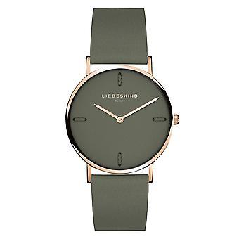 LIEBESKIND BERLIN Women's Watch Wristwatch Leather LT-0204-LQ
