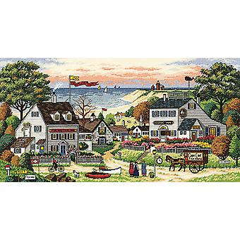 Gold Collection Cozy Cove Counted Cross Stitch Kit 18