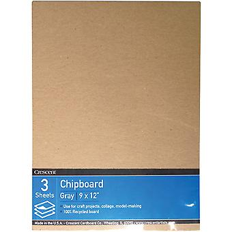 Crescent Recycled Chipboard Value Pack 3/Pkg-9