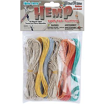 Hemp Variety Pack 300 Feet Pkg Rainbow Km 311