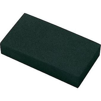 Foam rubber block self-adhesive EVA Black (L x W x H) 95 x 49 x