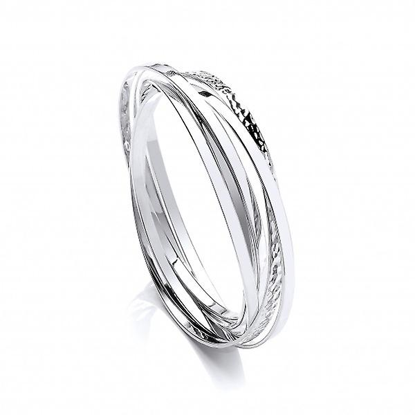 Cavendish Russische Franse Sterling Silver Bangle