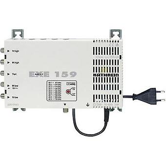 SAT unicable cascade multiswitch Kathrein EXE 159 Inputs (multiswitches): 5 (4 SAT/1 terrestrial) No. of participants: