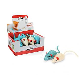 Camon Mouse Sisal 10 cm (Cats , Toys , Mice)