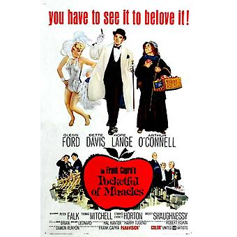 Pocketful of Miracles Movie Poster (11 x 17)