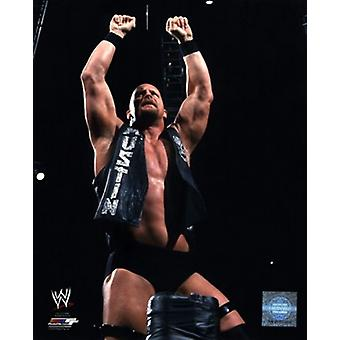 Stone Cold Steve Austin 2001 Action Sports Photo (8 x 10)