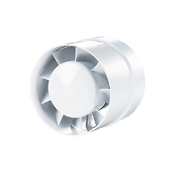 Vents axial inline fan bathroom fan 100 VKO Series up to 135 m³/h IPX4 with ball-bearing