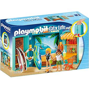 Speelbox Surfshop Playmobil