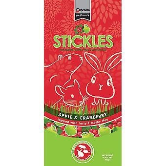 Supreme Stickles With Apple & Cranberry 100g (Pack of 8)