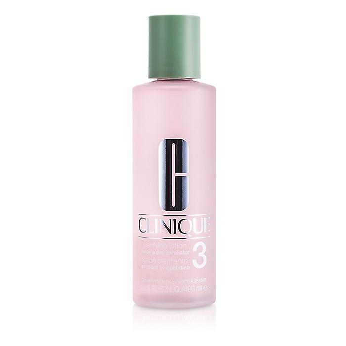 Clinique Clarifying Lotion Twice A Day Exfoliator 3 (For Japanese Skin) 400ml/13.5oz