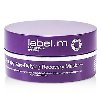 Label.m Therapy Age-Defying Recovery Mask (To Repair Rejuvenate and Soften Hair) - 120ml/4oz