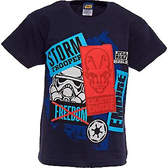 STAR WARS | REBELS | Youth T-Shirt | Age 3-4 Years