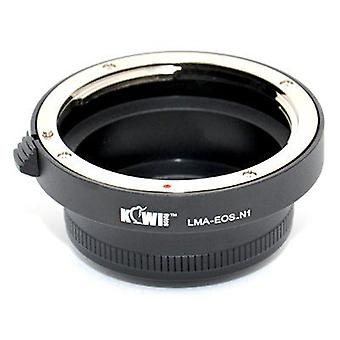 Kiwifotos Lens Mount Adapter: Allows Canon EOS EF Mount Lenses to be used on any Nikon 1 Series Camera (J1, J2, J3, S1, V1, V2)