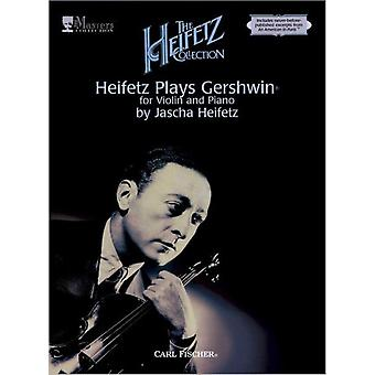 Heifetz Plays Gershwin for Violin and Piano (Paperback)