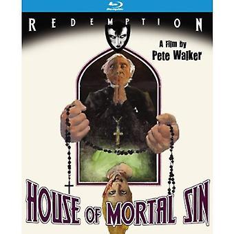 House of Mortal Sin [BLU-RAY] USA importerer