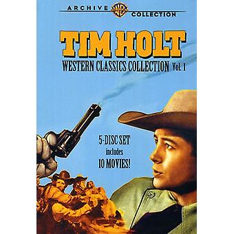 Tim Holt Western Classics Collection : Volume 1 importer des USA [DVD]