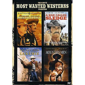 The 4-Movie Most Wanted Westerns Collection [2 Discs] [DVD] USA import