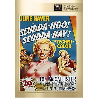 Scudda Hoo Scudda Hay [DVD] USA import