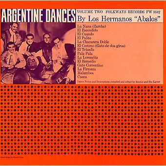 Los Hermanos Abalos - Los Hermanos Abalos: Vol. 2-traditionelle Tänze aus Argentinien [CD] USA import