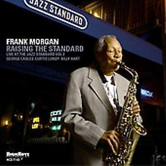 Frank Morgan - hæve den Standard [CD] USA Importer