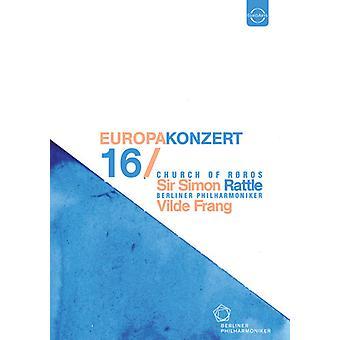Berliner Philharmoniker - Europakonzert 2016 DVD [DVD] USA importerer