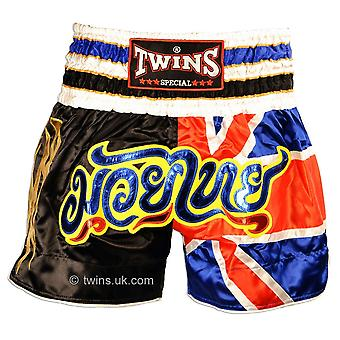 Twins Special UK Flag Muay Thai Shorts