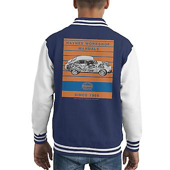 Haynes Workshop Manual 0084 VW 1600 Fastback Stripe Kid's Varsity Jacket