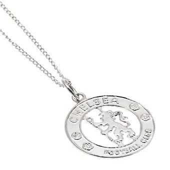 Chelsea Sterling Silver Pendant & Chain CR