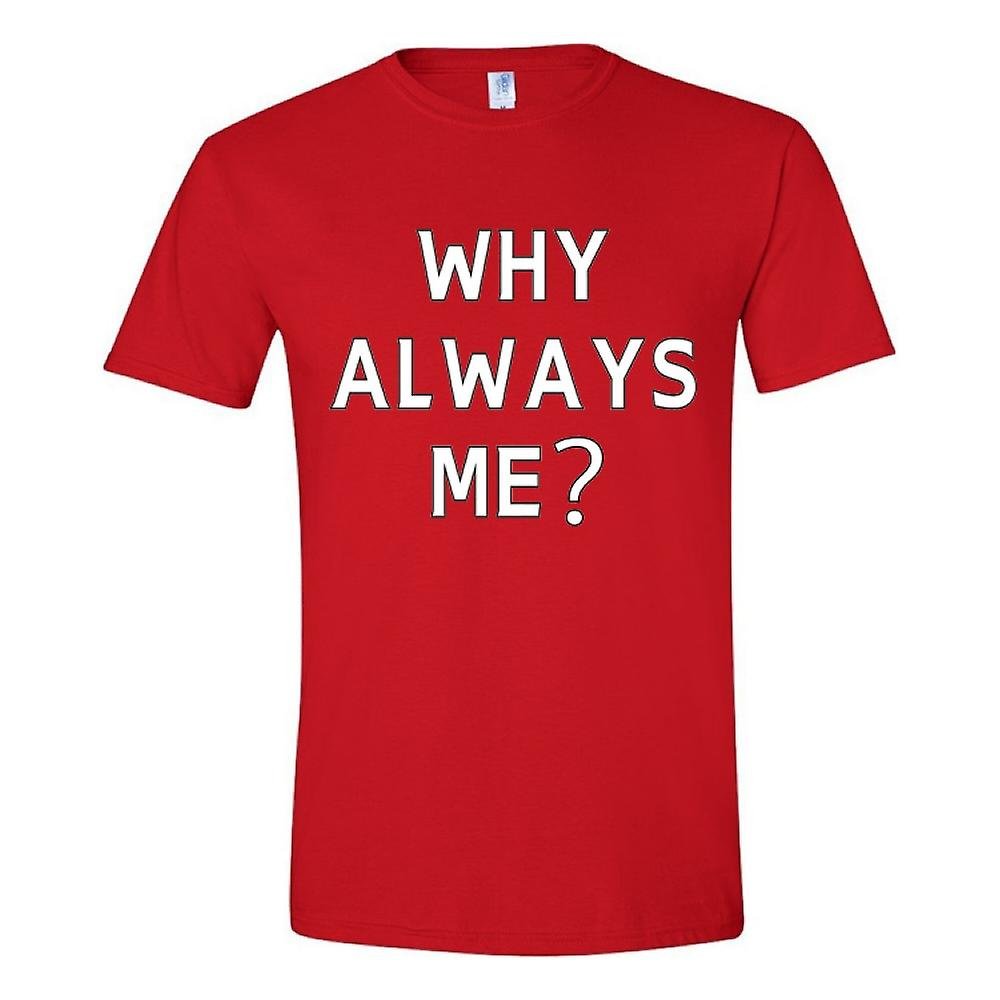 Mario Balotelli Why immer Me T-Shirt (rot)