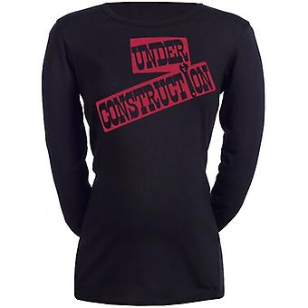 Spoilt Rotten Under Construction Maternity T-Shirt