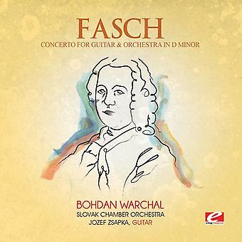 Fasch - Concerto Guitar & Orch D Min [CD] USA import