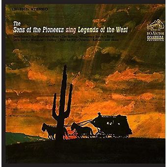Hijos de los pioneros - cantar leyendas de la importación de los E.e.u.u. del oeste [CD]