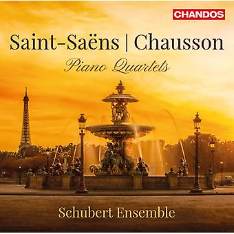 Chausson / Schubert Ensemble - Saint-Saens & Chausson: Piano Quartets [CD] USA import