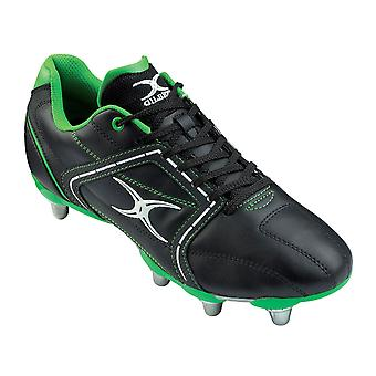 GILBERT Atomic Mid Cut Hard Toe 8 Stud Rugby Boots