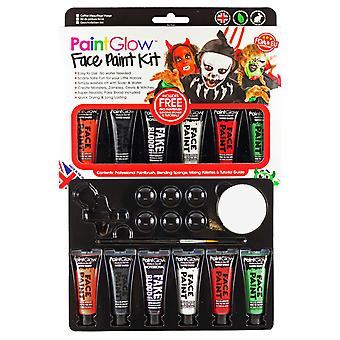 PaintGlow Kids Face & Body Paint Kit