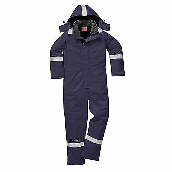 Portwest - Fire Resistant Safety Workwear Anti-Static Winter Coverall Boilersuit