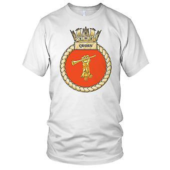 Royal Navy HMS Quorn-Herren-T-Shirt