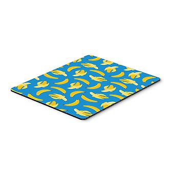 Carolines Treasures  BB5149MP Bananas on Blue Mouse Pad, Hot Pad or Trivet
