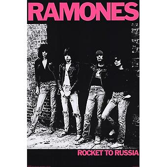 The Ramones - Rocket Poster Poster Print