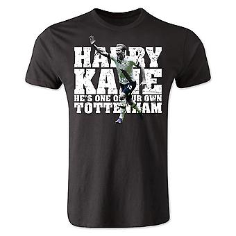 Harry Kane Tottenham Player T-Shirt (Black) - Kids