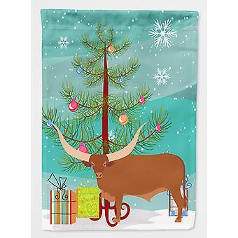 Carolines skatter BB9190GF Ankole-Watusu ku Christmas flagg hage størrelse