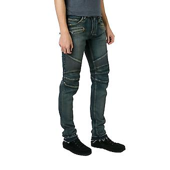 Balmain men POHT500C710155 Blau cotton of jeans