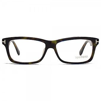 Tom Ford FT5146 bril In groene Havana