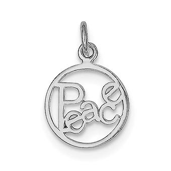 Sterling Silver Peace Circle Charm