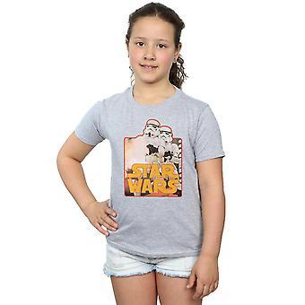 Star Wars Stormtrooper Assault-T-Shirt für Mädchen