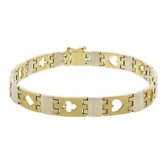 Golden poker bracelet