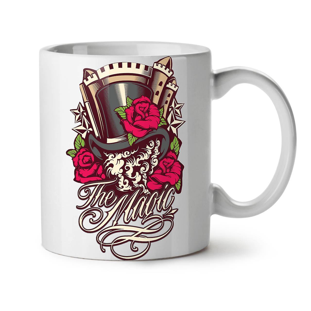 La Tasse 11 Magie OzWellcoda Blanc Rose Nouveau Thé Café Céramique j35ALRq4